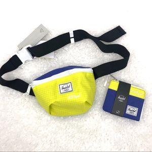 NWT Herschel Fourteen Belt Bag & Johnny Wallet